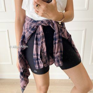 Abercrombie & Fitch Plaid Button - Cute for Hiking
